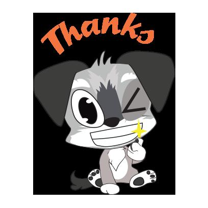 Yorkie dog emoji & stickers messages sticker-6