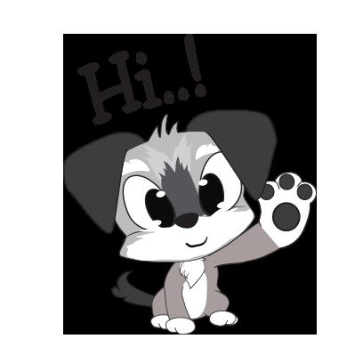 Yorkie dog emoji & stickers messages sticker-2