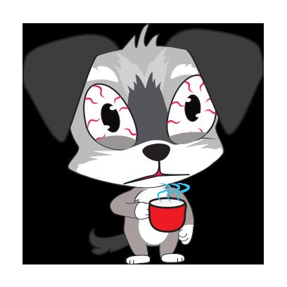 Yorkie dog emoji & stickers messages sticker-7