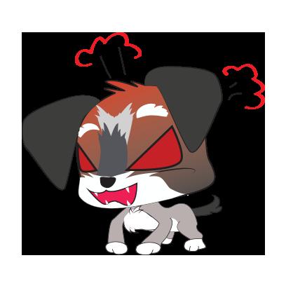 Yorkie dog emoji & stickers messages sticker-9