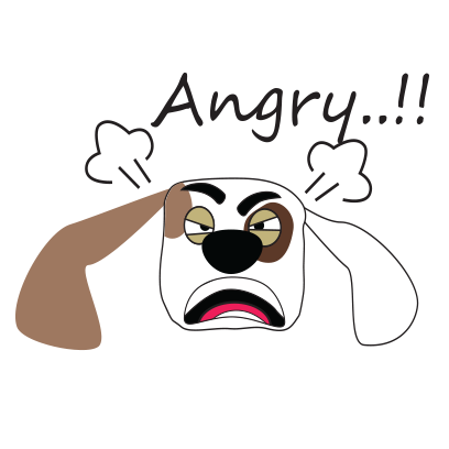 Puppy face emojis messages sticker-6
