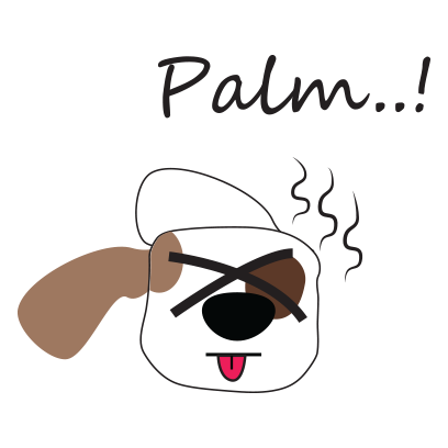 Puppy face emojis messages sticker-7