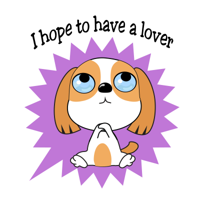 Beagle dog emoji & stickers messages sticker-5