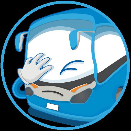 INFOBUS: Bus, train, flight messages sticker-3