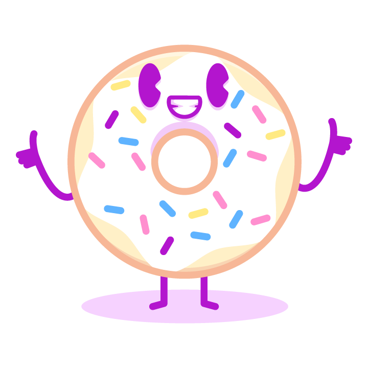Fun Donuts messages sticker-7