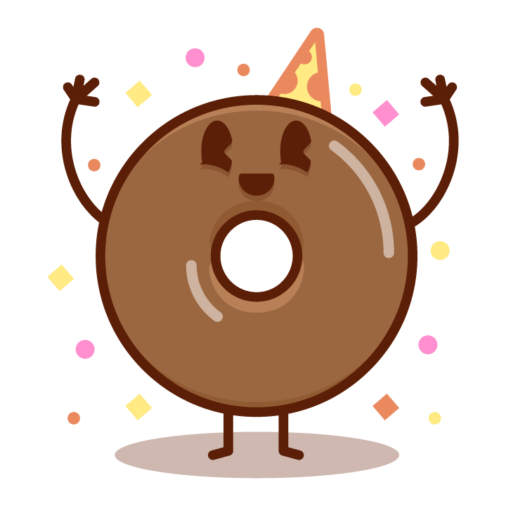 Fun Donuts messages sticker-4