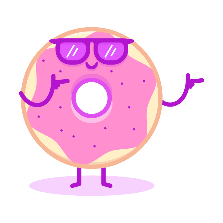 Fun Donuts messages sticker-5