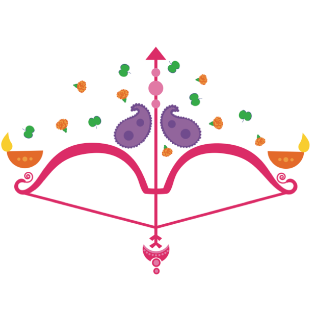Durga Sharodiya messages sticker-1