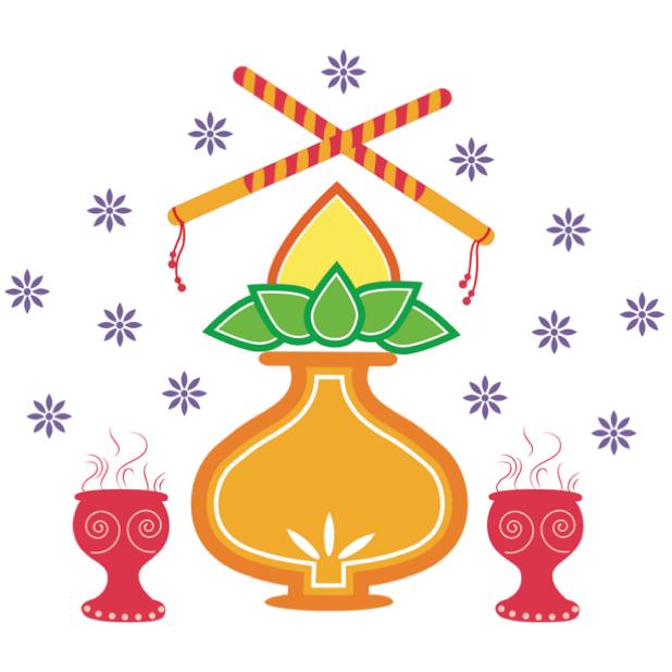 Durga Sharodiya messages sticker-4