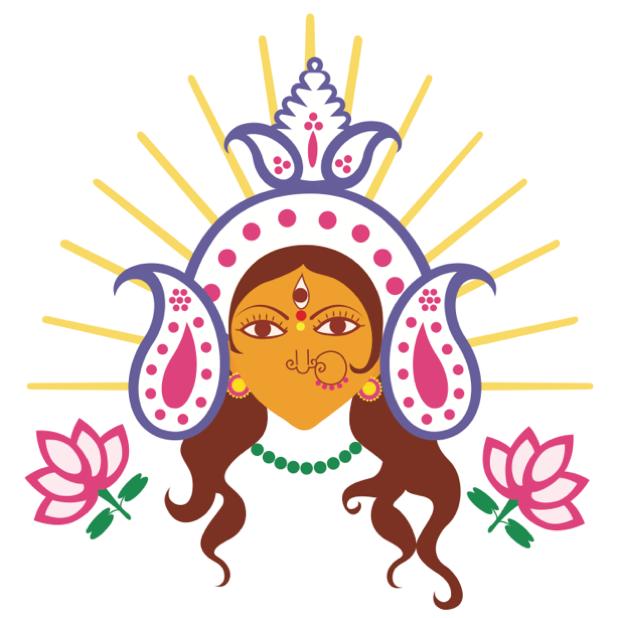 Durga Sharodiya messages sticker-8