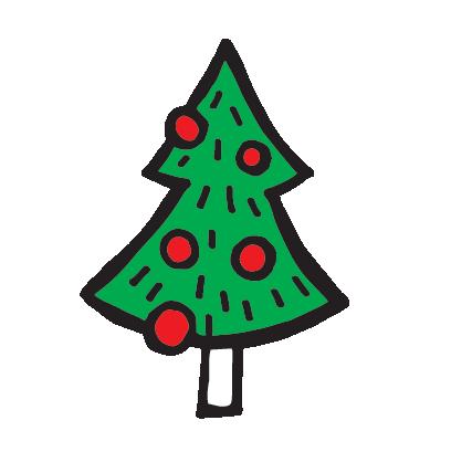 Новый год от Вкусной Помощи! messages sticker-9
