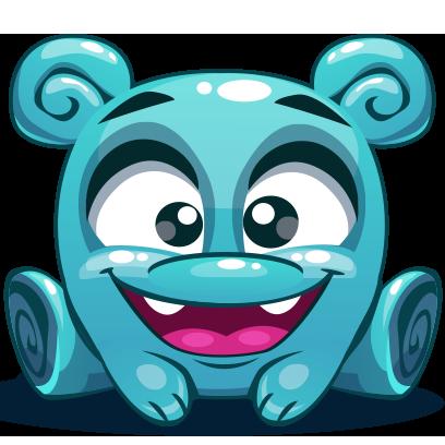 Herbie The Blue Alien messages sticker-11