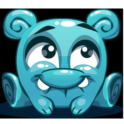 Herbie The Blue Alien messages sticker-10