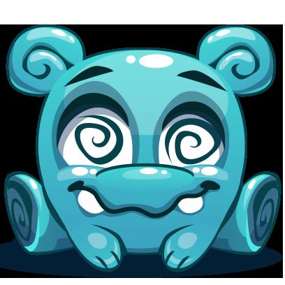 Herbie The Blue Alien messages sticker-6