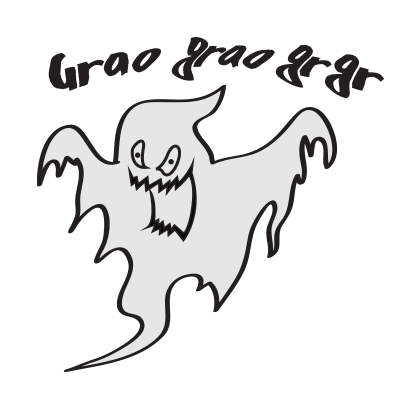 Cute ghost emojis & stickers messages sticker-9