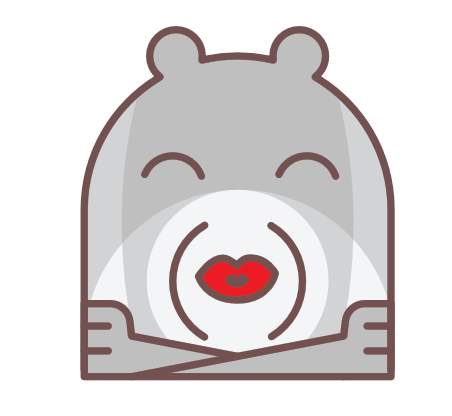Trendy Teddy Bear Stickers messages sticker-5