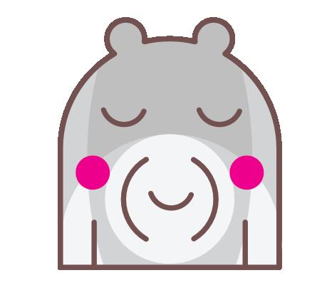 Trendy Teddy Bear Stickers messages sticker-7