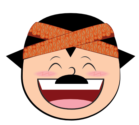 Funny Man Cartoon Face messages sticker-3