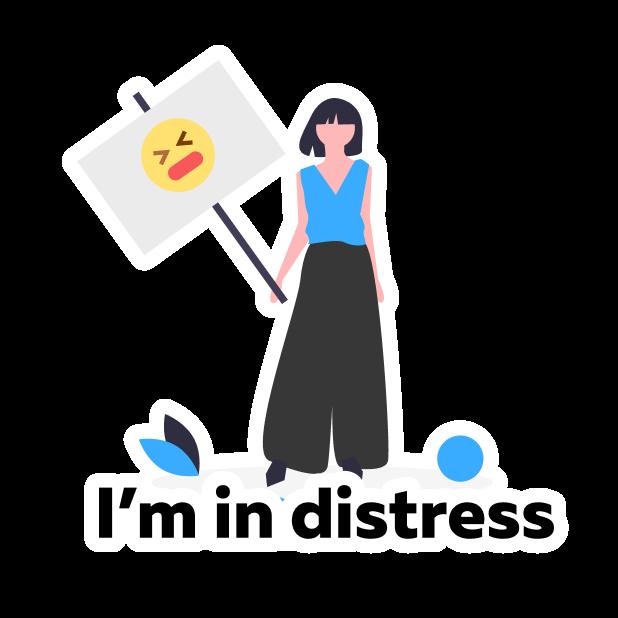 Patronus: Mental Health Guide messages sticker-4