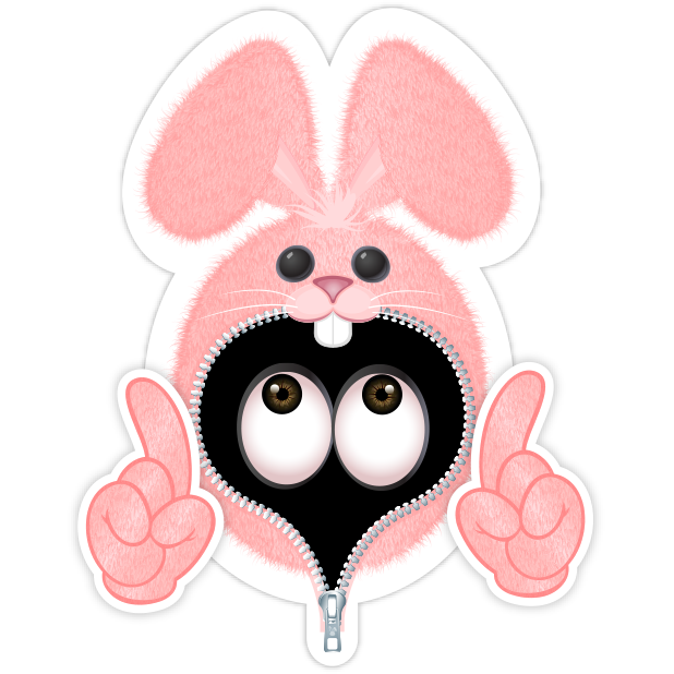 Pink Bun•e messages sticker-4