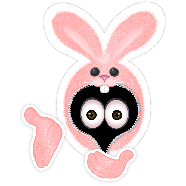 Pink Bun•e messages sticker-1