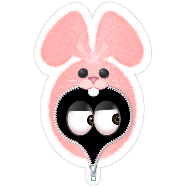 Pink Bun•e messages sticker-5