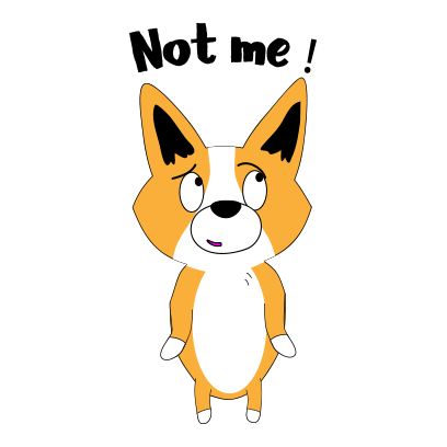 Corgi dog lovely sticker messages sticker-3