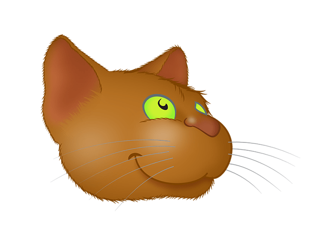 Brown Cat emoji messages sticker-10