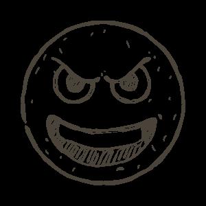 Hand Draw Emojis messages sticker-5