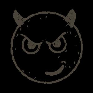 Hand Draw Emojis messages sticker-4