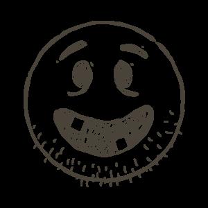 Hand Draw Emojis messages sticker-11