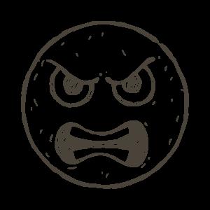 Hand Draw Emojis messages sticker-1