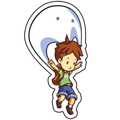 A Boy and his Blob Stickers messages sticker-2