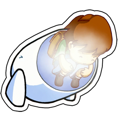 A Boy and his Blob Stickers messages sticker-7
