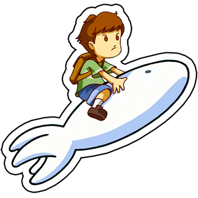 A Boy and his Blob Stickers messages sticker-3