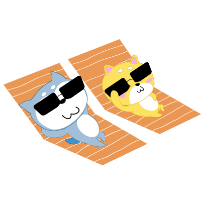 Couple dog sticker messages sticker-7