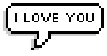 Pixel Speech messages sticker-3