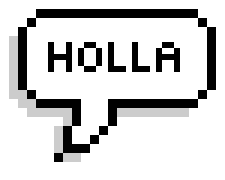 Pixel Speech messages sticker-1