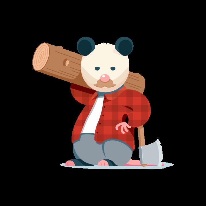 Awesome Possum messages sticker-9