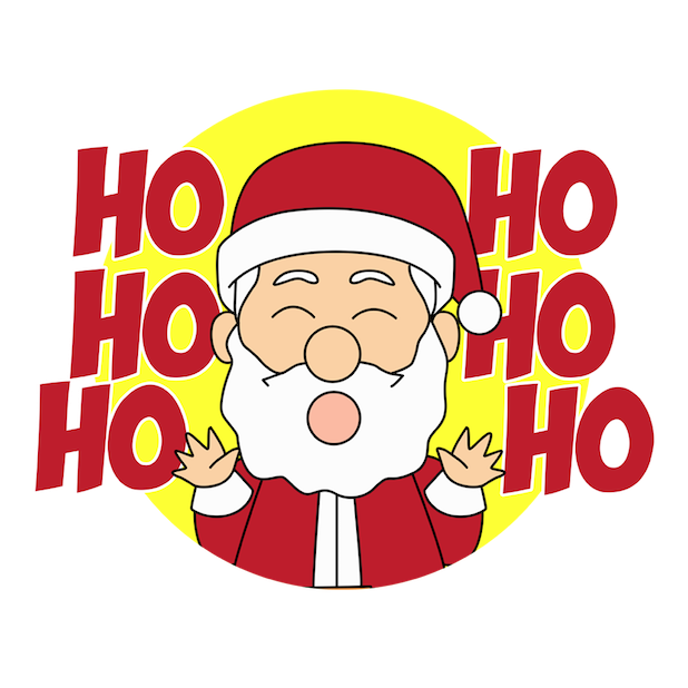 ChristmasMOJI Holiday Stickers messages sticker-1