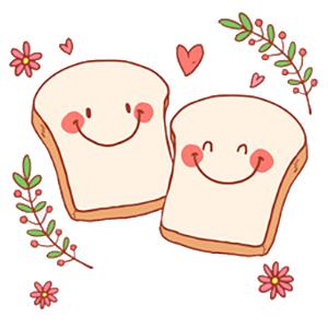 Bread Baby messages sticker-3