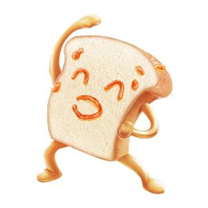 Bread Baby messages sticker-2