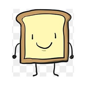 Bread Baby messages sticker-0