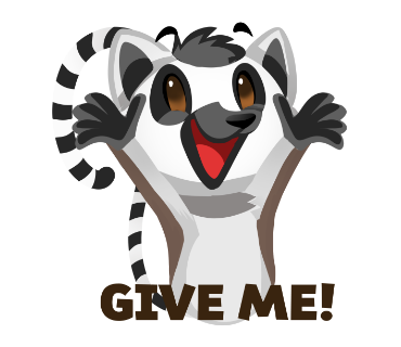 Say it with Cute Animal messages sticker-5