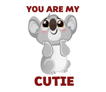 Say it with Cute Animal messages sticker-7