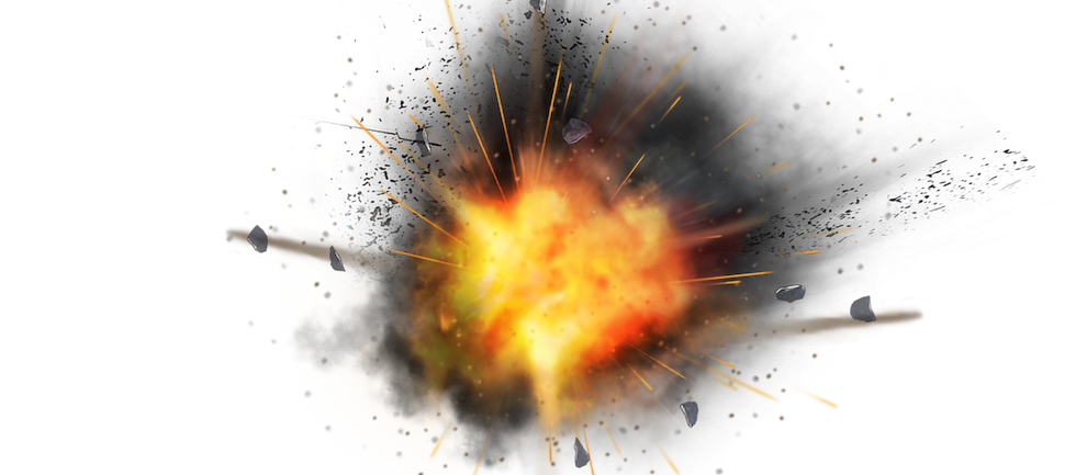 Kaboom Explosion messages sticker-2