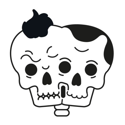 Mr Bones messages sticker-2