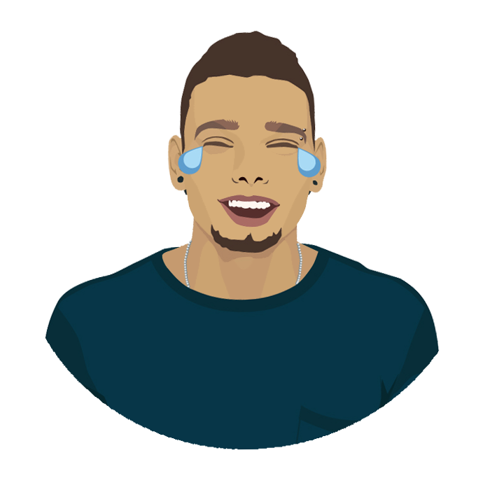 Kane Brown Emoji Pack and Game messages sticker-2