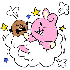 Superstar BT21 #1 Unveiled messages sticker-10