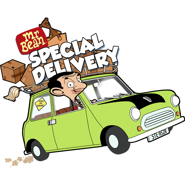 Mr Bean - Special Delivery messages sticker-0